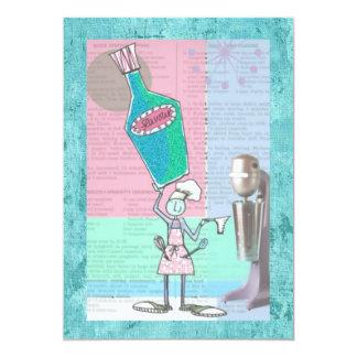 "Recipe Trading Cards 5"" X 7"" Invitation Card"