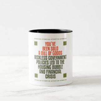 Reckless Government Policies Coffee Mug