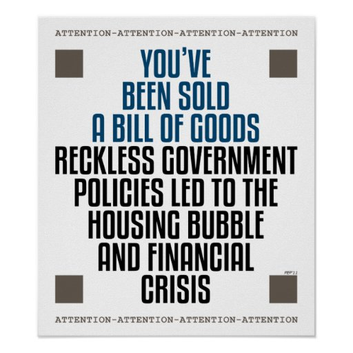 Reckless Government Policies Print