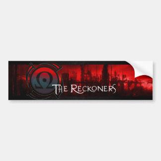 Reckoners Bumper Sticker - Apocalypse