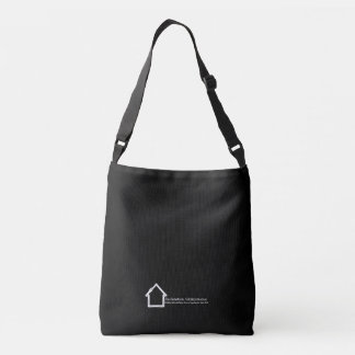 Reclamation Administration logo white on black. Crossbody Bag