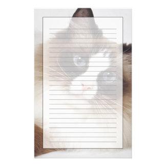 Reclining Cat Stationery