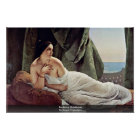 Reclining Odalisque By Hayez Francesco Poster