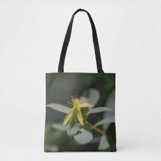 Reclining St. Andrews Cross Wildflower Tote Bag
