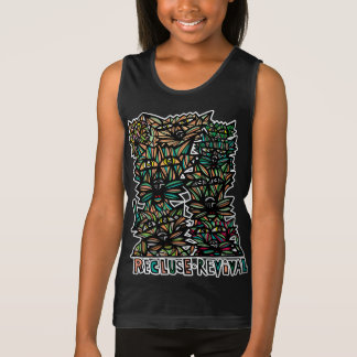 """Recluse Revival"" Girls' Tank Top"