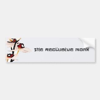 Reclusive Monk Orchid Bumper Sticker