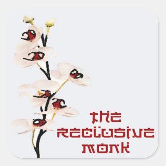 Reclusive Monk Orchid Sticker