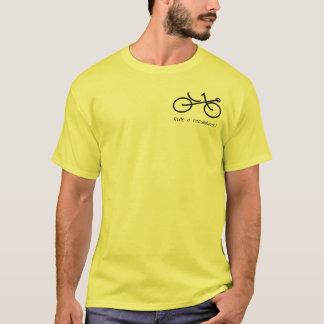 Recmbent2, Get 'bent!, Ride a recumbent! T-Shirt