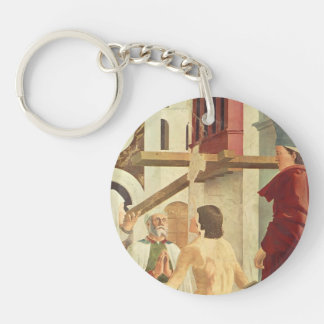 Recognition of the True Cross by Piero Francesca Acrylic Keychains