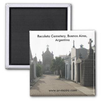 Recoleta Cemetery, Buenos Aires, Argentina Magnet