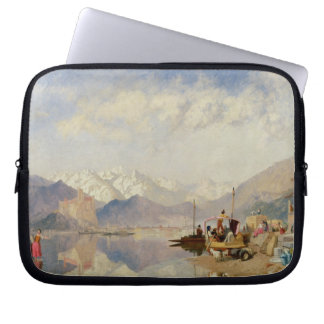 Recollections of the Lago Maggiore, Market Day at Laptop Sleeve