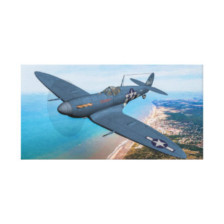 Recon Spitfire Mk IXC Canvas Print