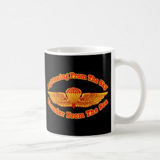 Recon Thunder From Sky Black Coffee Mug