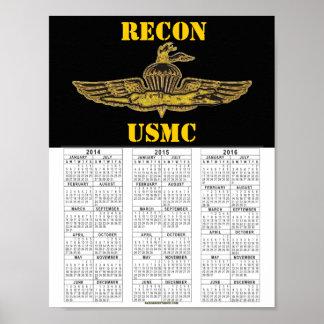RECON USMC POSTER