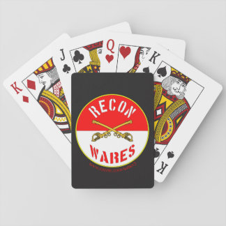 Recon Wares Logo Playing Cards