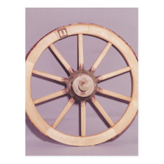 Reconstruction of a wheel postcard