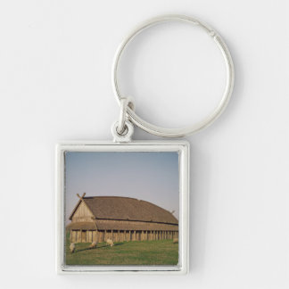 Reconstruction of an 11th century Viking house Key Ring