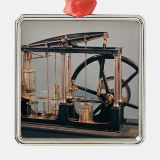 Reconstruction of James Watt's steam engine Christmas Ornament