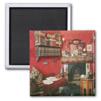 Reconstruction of Sherlock Holmes s Room Refrigerator Magnet