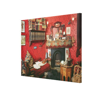 Reconstruction of Sherlock Holmes's Room Canvas Print