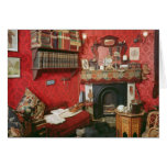 Reconstruction of Sherlock Holmes's Room Greeting Card