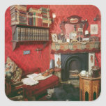 Reconstruction of Sherlock Holmes's Room Square Sticker