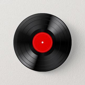 Record_LP 6 Cm Round Badge