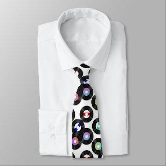 Record Neck Tie
