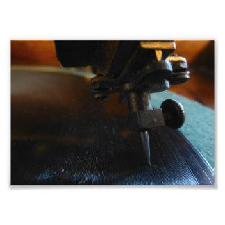 Record Needle Photo Print