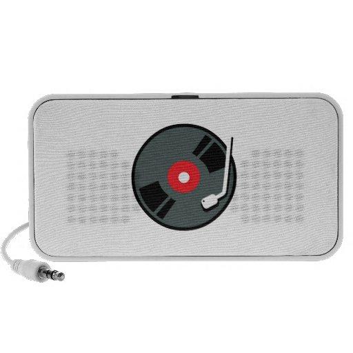 Record Player Mini Speaker