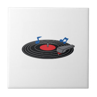 RECORD PLAYER CERAMIC TILE