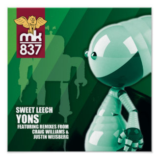 Record Sleeve Proof Yons Posters