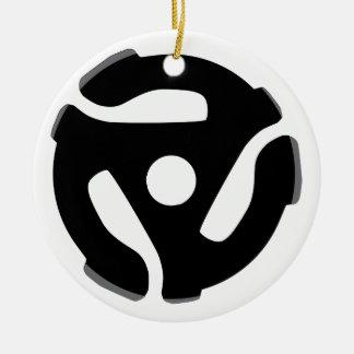 Record Spider Round Ceramic Decoration