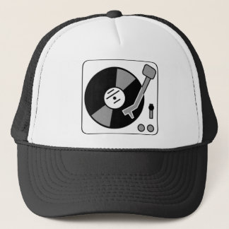 Record Turntable Trucker Hat