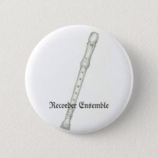 Recorder Ensemble 6 Cm Round Badge