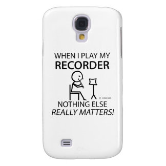 Recorder Nothing Else Matters Galaxy S4 Cases