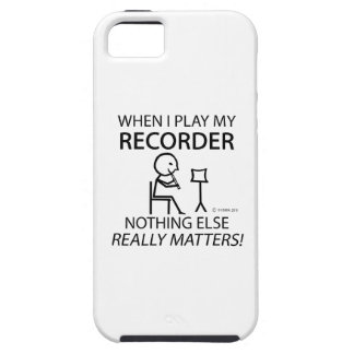 Recorder Nothing Else Matters iPhone 5 Covers