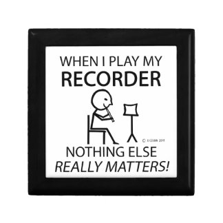 Recorder Nothing Else Matters Gift Boxes