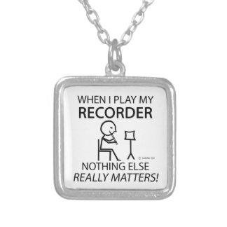 Recorder Nothing Else Matters Pendants