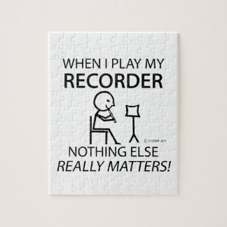 Recorder Nothing Else Matters Puzzles