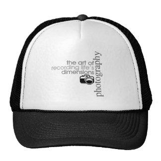 Recording Life s Dimensions Mesh Hat