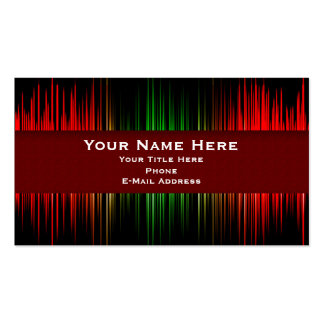 Recording- Music Business Card