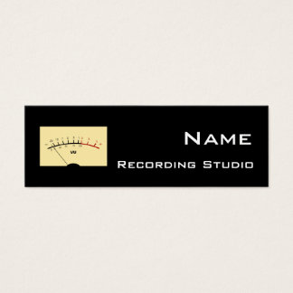 Recording Studio Business Card