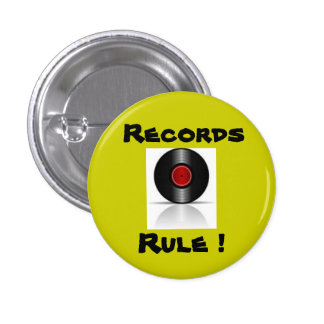 Records Rule ! Pin