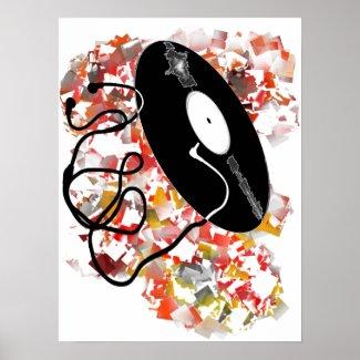 records, where do I plug the jack Poster