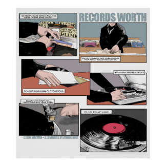 Records Worth Poster