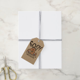 Recount 60th Birthday Gift Tags