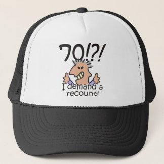 Recount 70th Birthday Trucker Hat