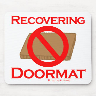 Recovering Doormat Mouse Pads