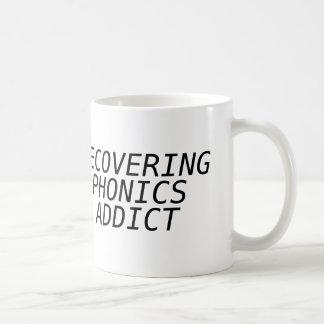Recovering Phonic Addict Coffee Mug
